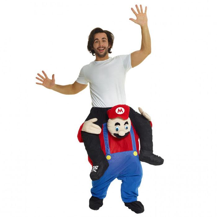 Maskeraddräkt Rörmokare piggyback