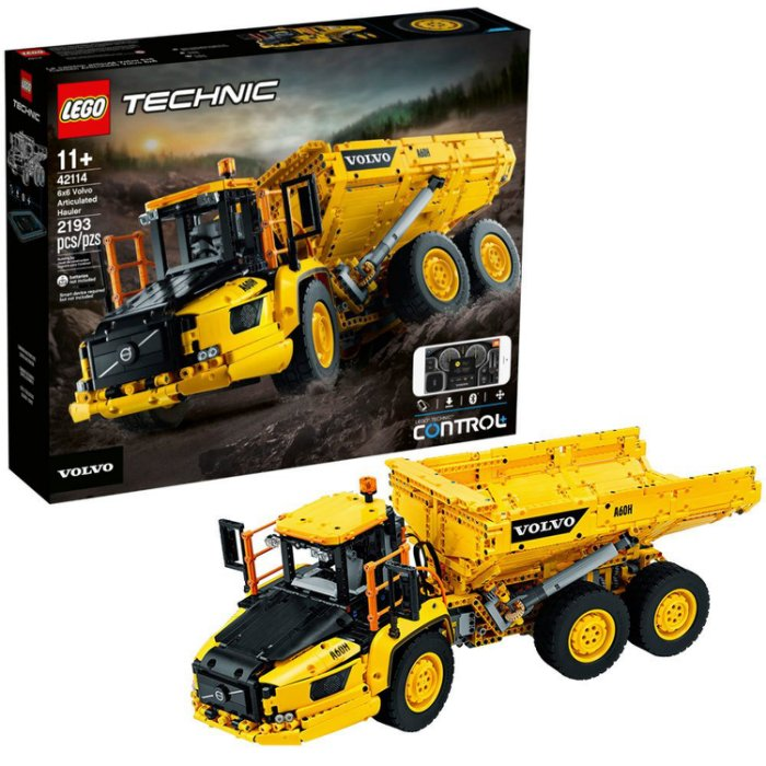 LEGO Technic Volvo Dump Truck